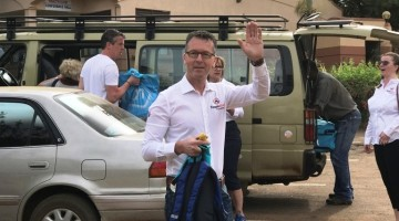 Tour operators visit Nabisere Hotel